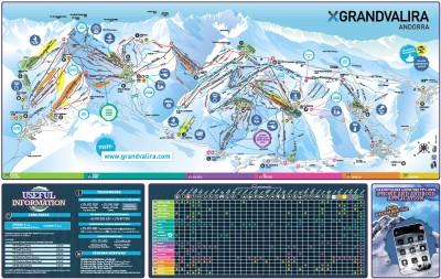 Grandvalira Piste Map Download