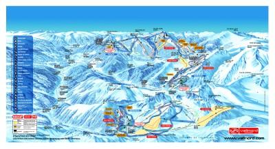 Andorra Piste Map